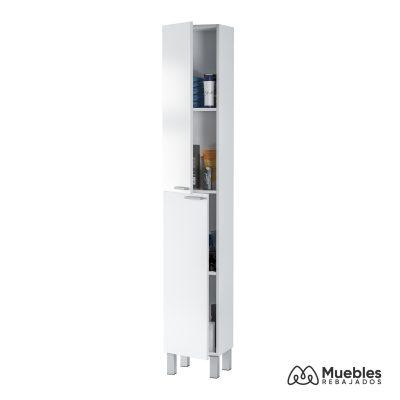 Armario baño auxiliar 2 puertas