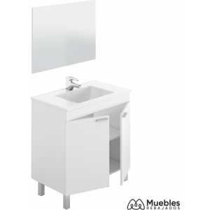 Mueble lavabo espejo barato