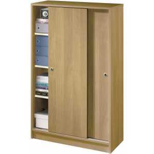 armario bajo correderas madera