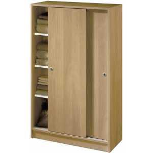armario bajo correderas madera turin