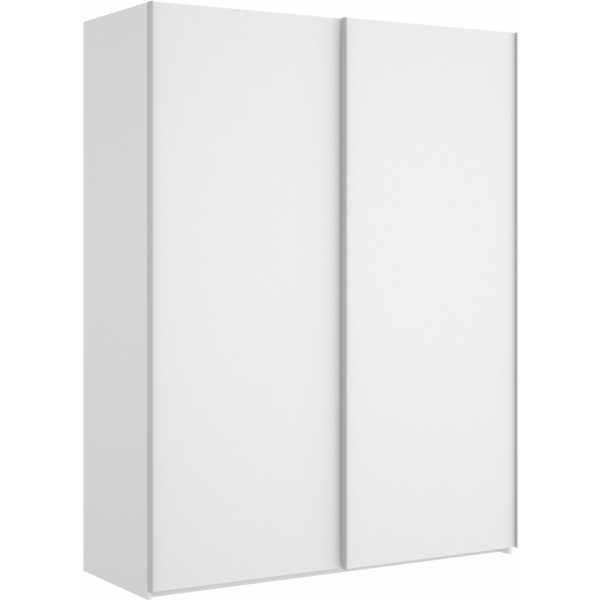 armario blanco brillo 2 puertas corredera 150 4