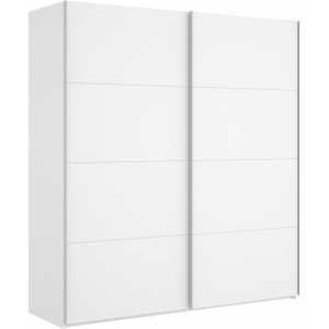 armario blanco brillo 2 puertas corredera 180 cm 4