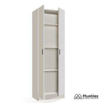 armario con estantes y puertas 007144o