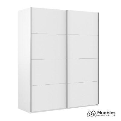 armario con puerta corredera blanco arm150a