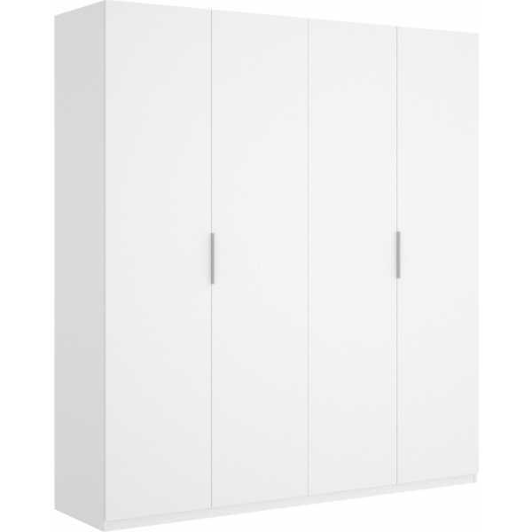 armario de 4 puertas 180cm blanco 2