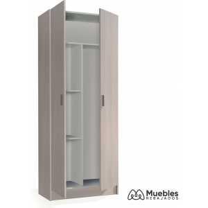 armario de dos puertas multiusos 007142r