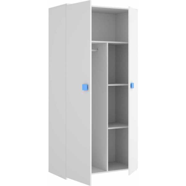 armario juvenil de 2 puertas mix 1