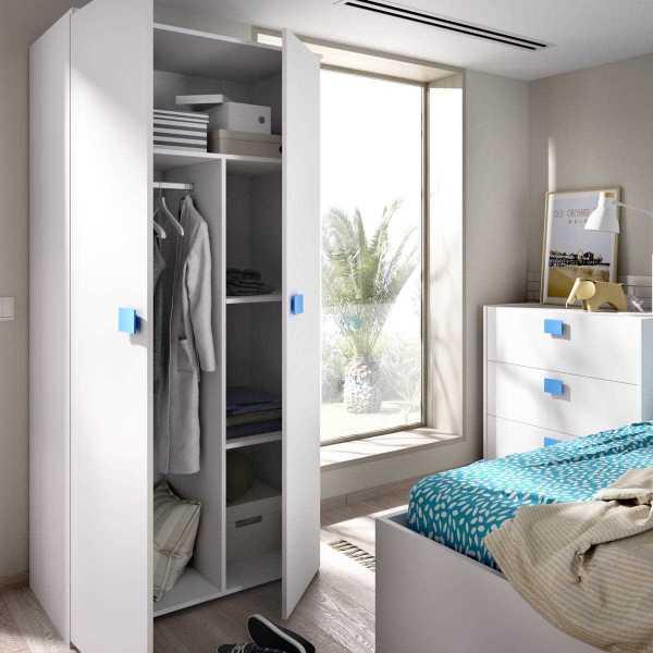 armario juvenil de 2 puertas mix 10