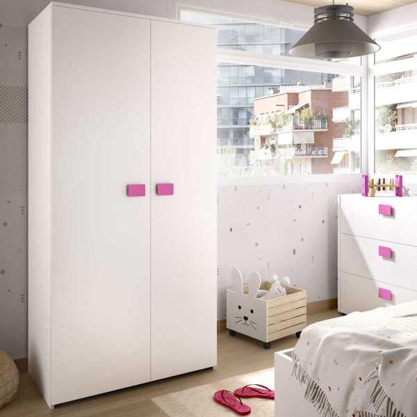 armario juvenil de 2 puertas mixto