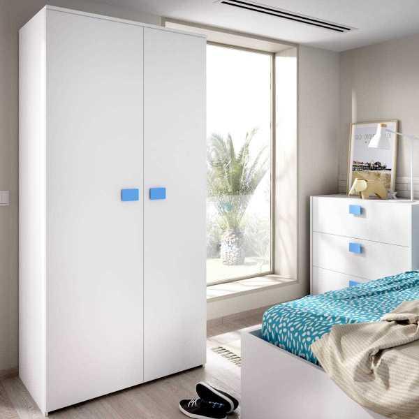 armario juvenil de 2 puertas mix