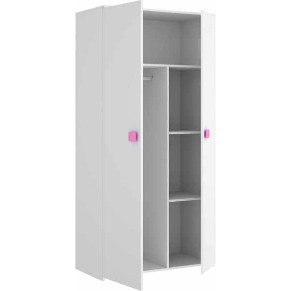 armario juvenil de 2 puertas mix 7