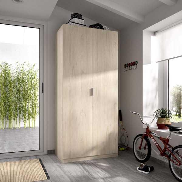 armario madera 2 puertas 80 cm 1
