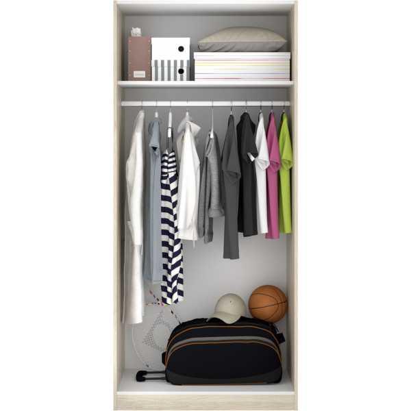 armario madera 2 puertas 80 cm 10