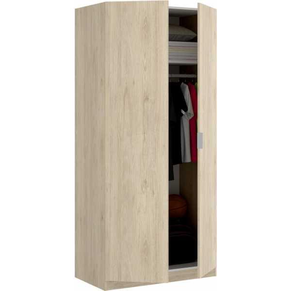 armario madera 2 puertas 80 cm 2