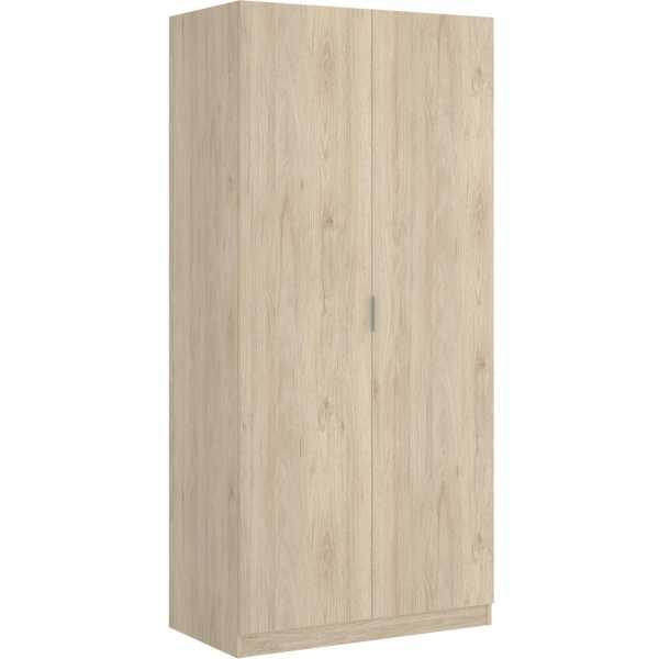 armario madera 2 puertas 80 cm 9