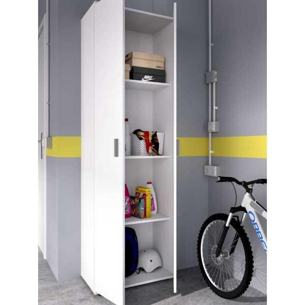 armario multiuso 2 puertas 3 estantes 2