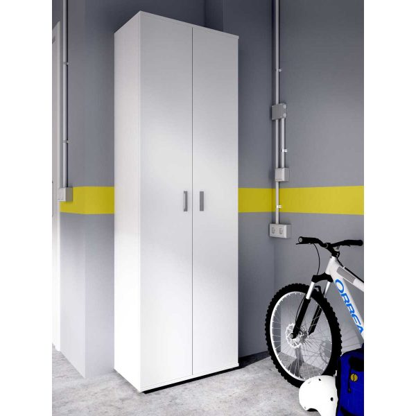 armario multiuso 2 puertas 3 estantes 3