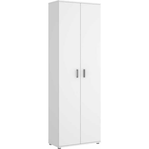 armario multiuso 2 puertas 3 estantes 6