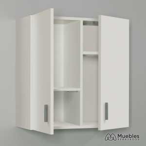 armario para colgar en la pared blanco 005148o