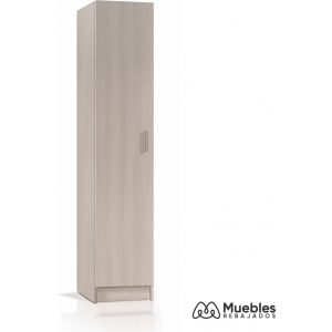 armario una puerta roble 007141r