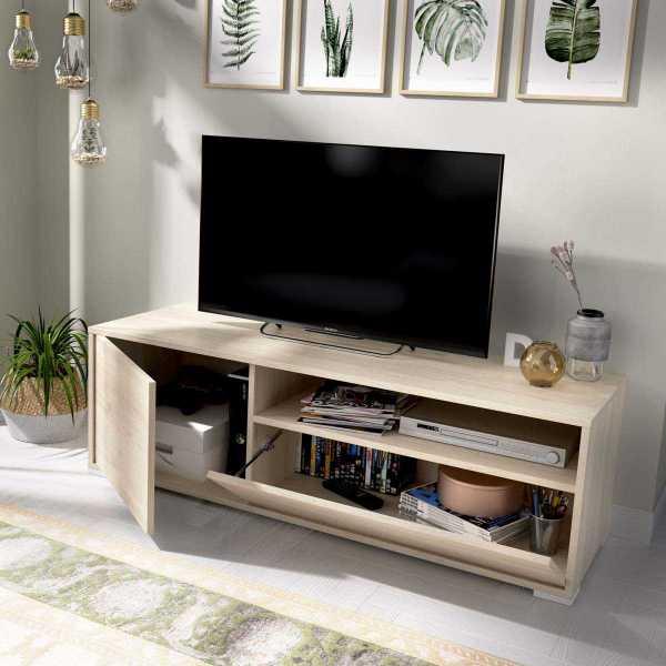 bajo tv 130 cm natural 1