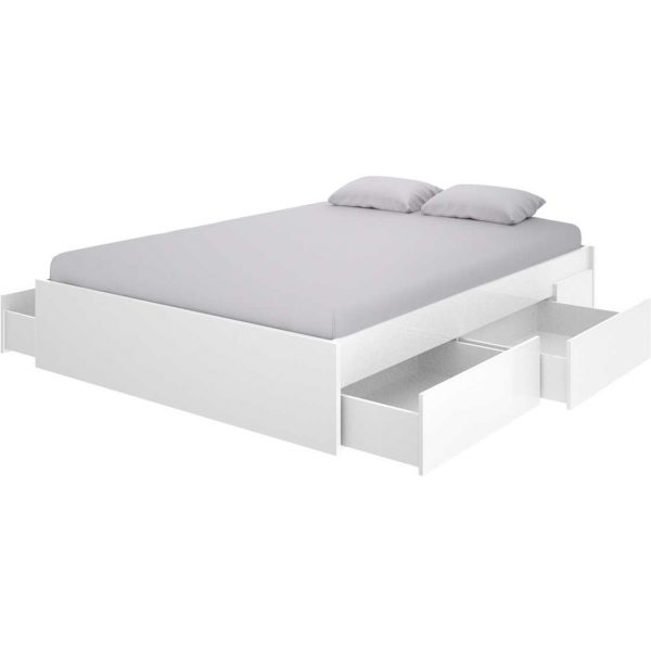 cama 4 cajones blanca 1