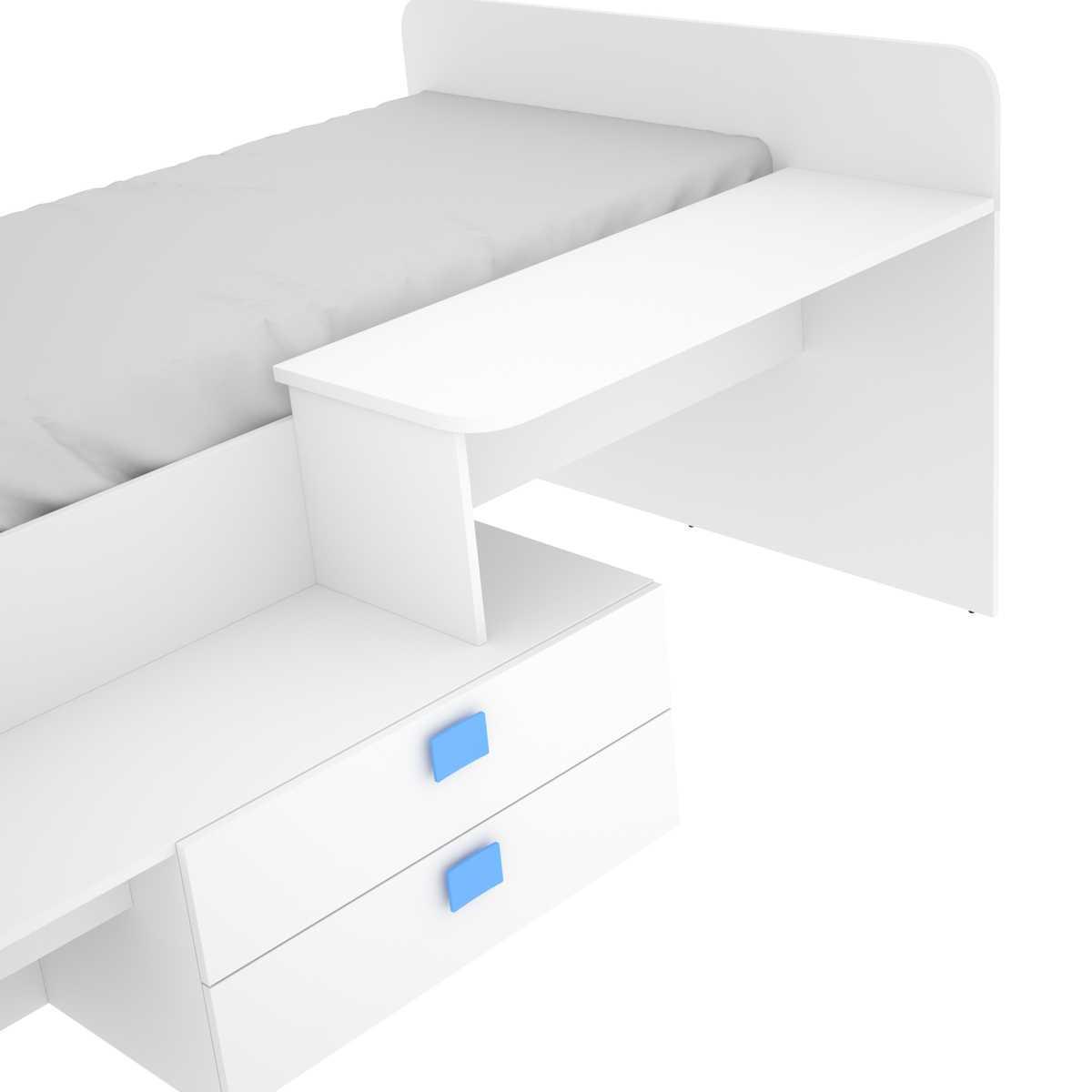 cama con cajones y escritorio 1