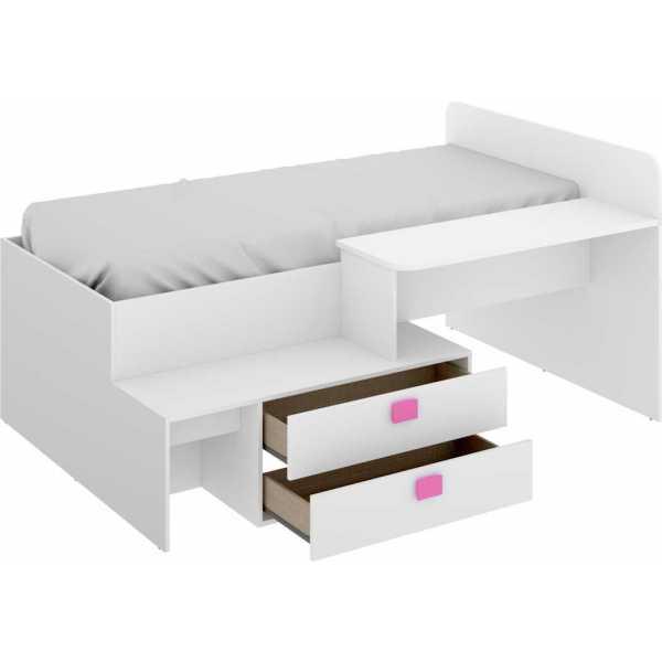 cama con cajones y escritorio 10