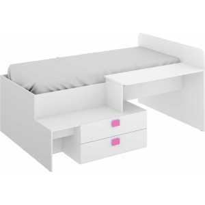 cama con cajones y escritorio 11