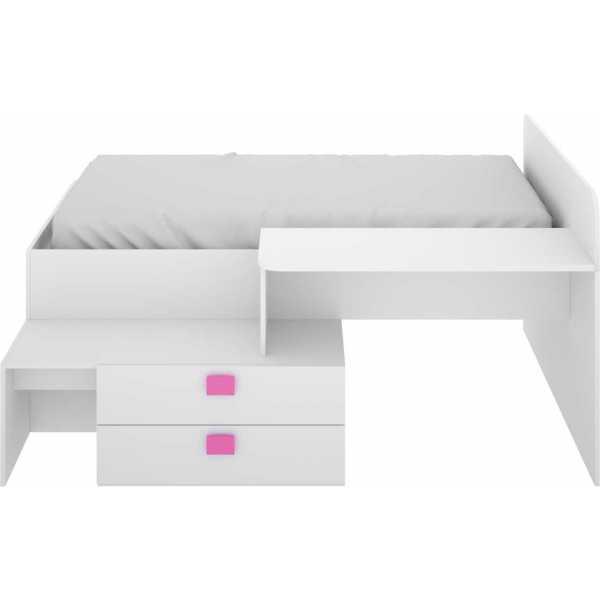 cama con cajones y escritorio 12