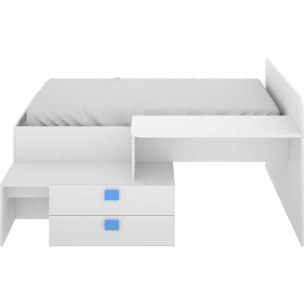 cama con cajones y escritorio 5