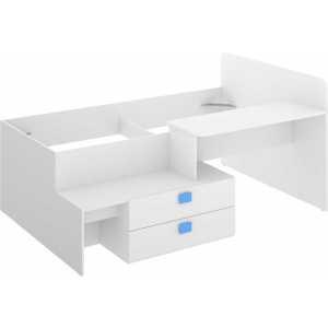 cama con cajones y escritorio 6
