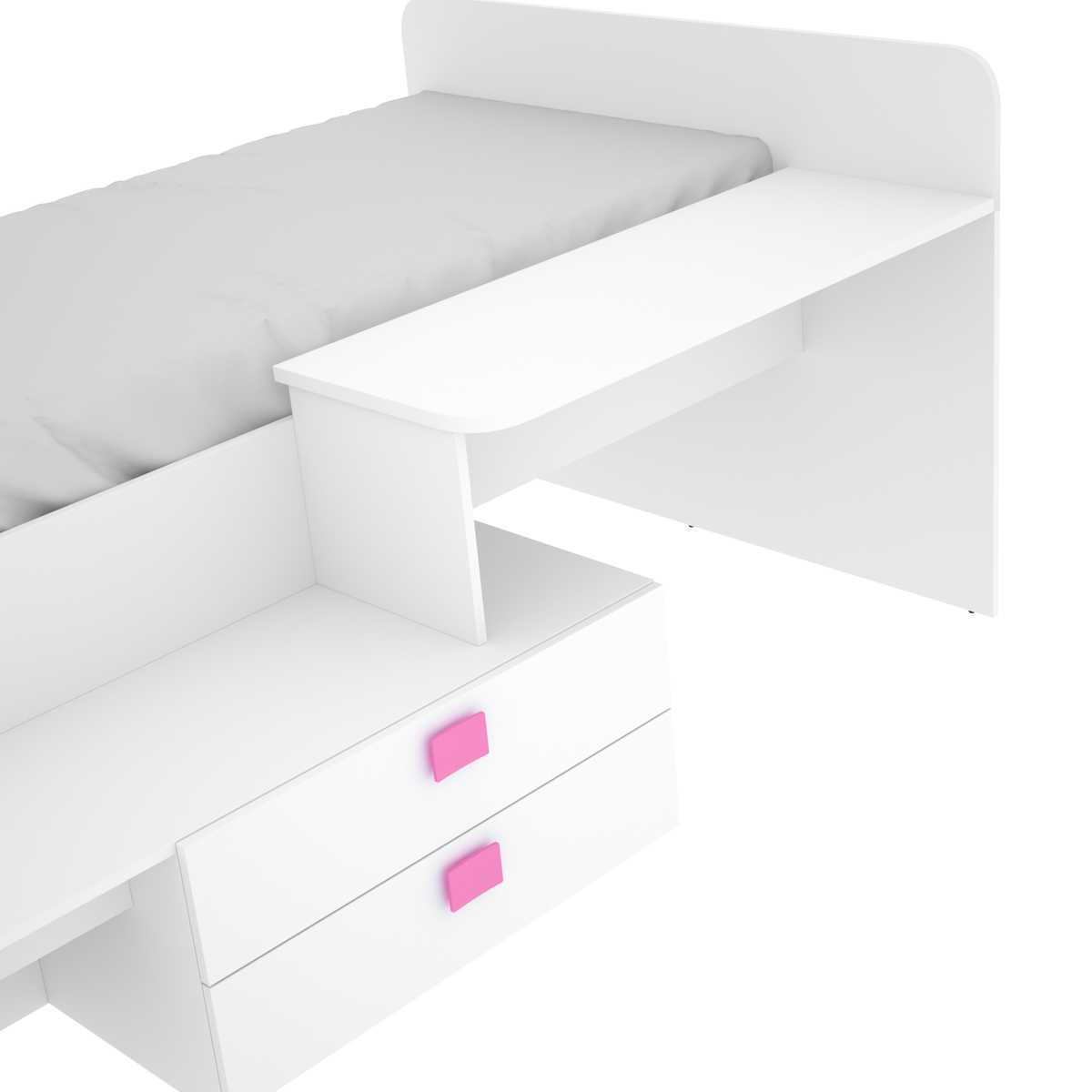 cama con cajones y escritorio 8