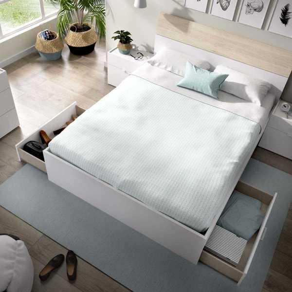 cama de 2 cajones y 2 huecos 1