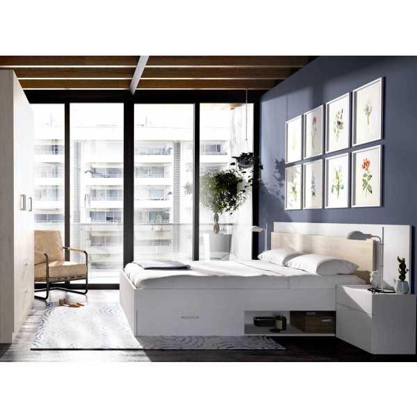 cama de 2 cajones y 2 huecos 6