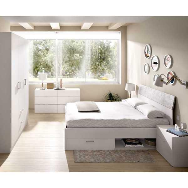 cama de 2 cajones y 2 huecos 7