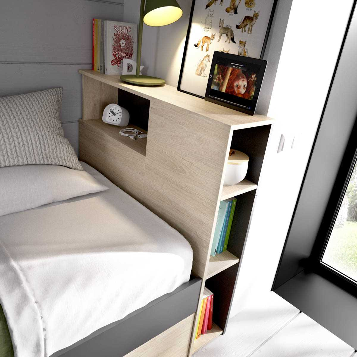 cama juvenil compacta 90x190 2