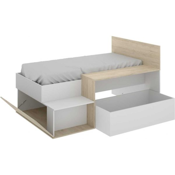 cama juvenil con escritorio 2