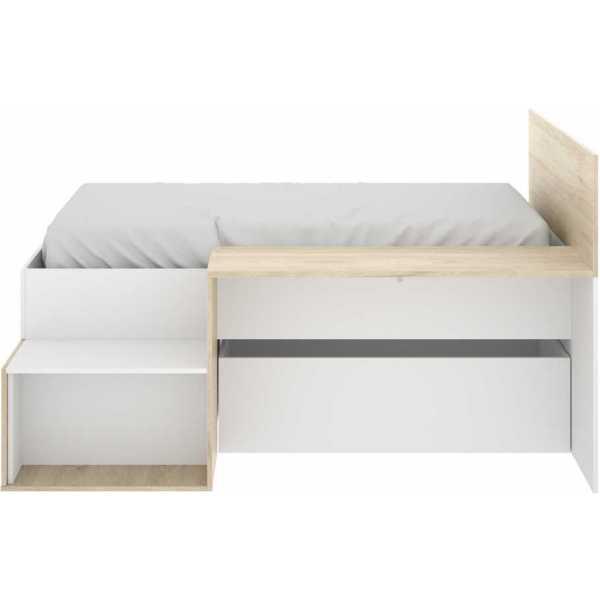 cama juvenil con escritorio 4