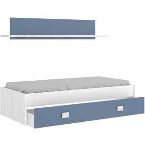 cama nido 1 azul cajon estanteria 1