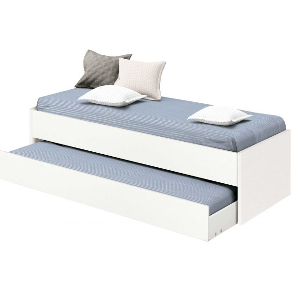 cama nido Tibet blanca