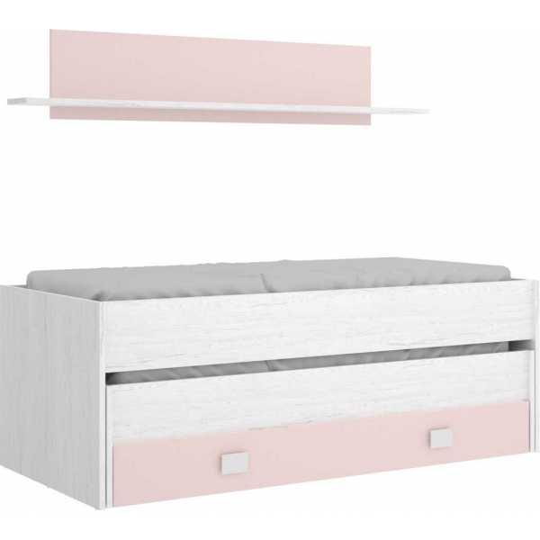 cama nido juvenil 1 cajon estanteria 3