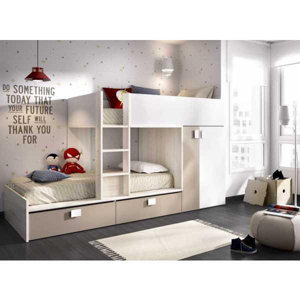 cama tren 2 camas matt 2