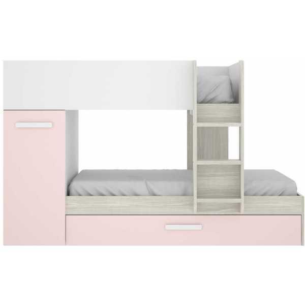 cama tren 3 camas tom rosa 4