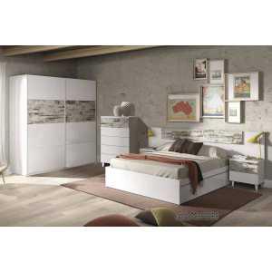 dormitorio vintage blanco 036093BO 006088BO 037835BO ARC181BO