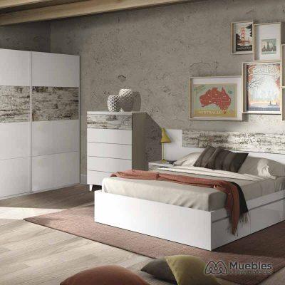 Dormitorio vintage blanco 036093BO-006088BO-037835BO-ARC181BO