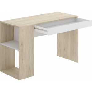 escritorio con estante y 1 cajon 3