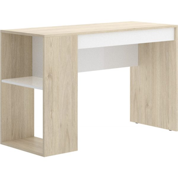 escritorio con estante y 1 cajon 4