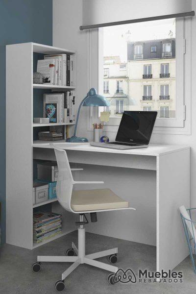 escritorio con estanteria incorporada 008314a