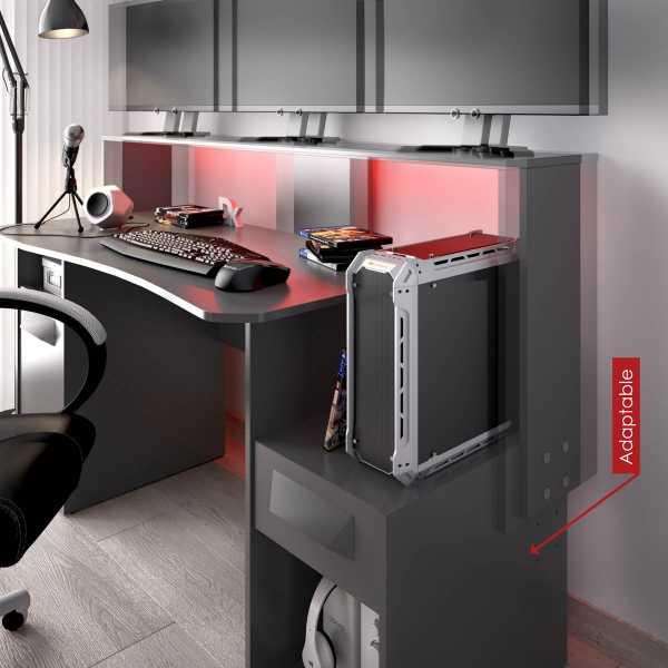 escritorio gaming con leds 18